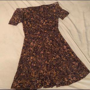 Target off the shoulder dress